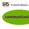 Communication helps us to take care of our well-being
